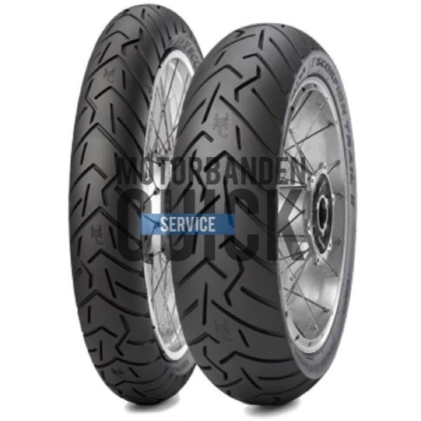 Pirelli 190 55ZR17 (75W) Scorpion Trail 2